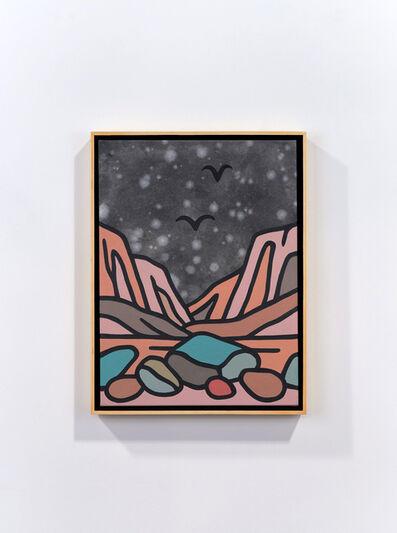 Tom Jean Webb, 'Warm rocks at night', 2021