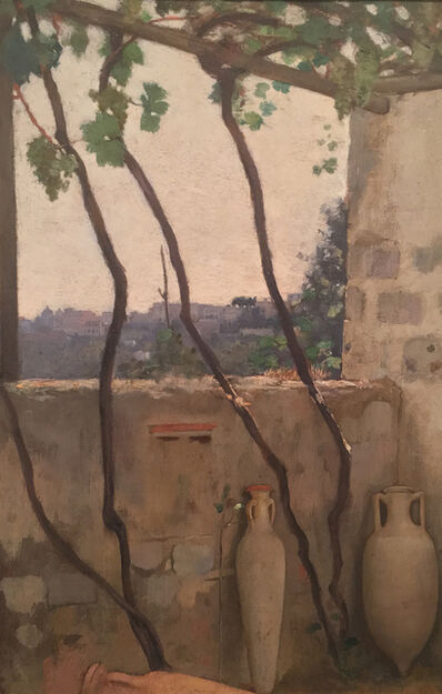 Charles Caryl Coleman, 'Villa Castello, Capri', 1895