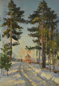 Aleksandr Nikiforovich Chervonenko, 'Pines', 1956