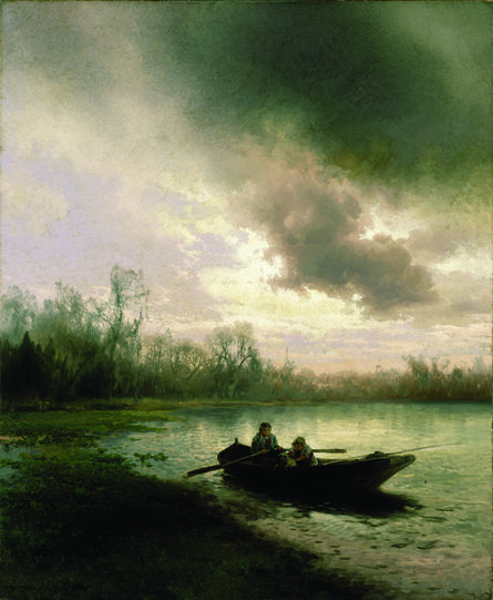 Herman Herzog, 'On Alachua Lake', ca. 1890