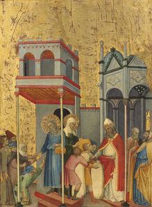 Andrea di Bartolo, 'Joachim and the Beggars', ca. 1400