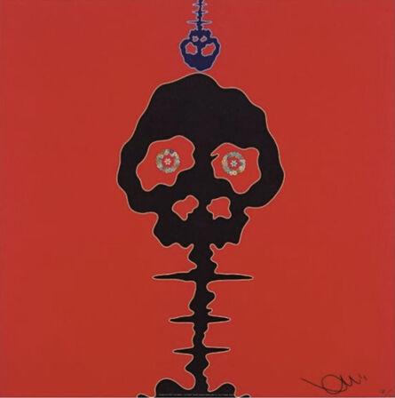 Takashi Murakami, 'Time Bokan (Red)', 2011