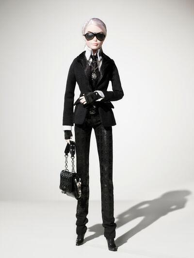 Mattel, 'Karl Lagerfeld Barbie', 2009