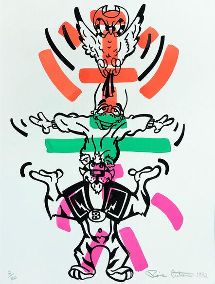 Ronnie Cutrone, 'SOUL PATROL (2 OF 2)', 1992