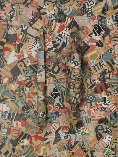 Jirí Kolár, 'Untitled (Knife and Rolling Pin)', 1965