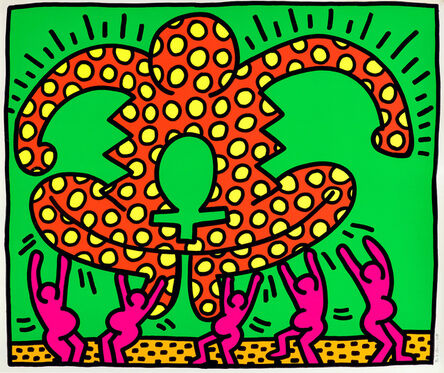 Keith Haring, 'The Fertility Suite: one plate (L. p. 33)', 1983