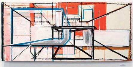 "Vicente Hemphill, '""HeadGames-2"", 2015, Mixed Medium on Board., 2015, Mixed Medium on Board.', 2015"