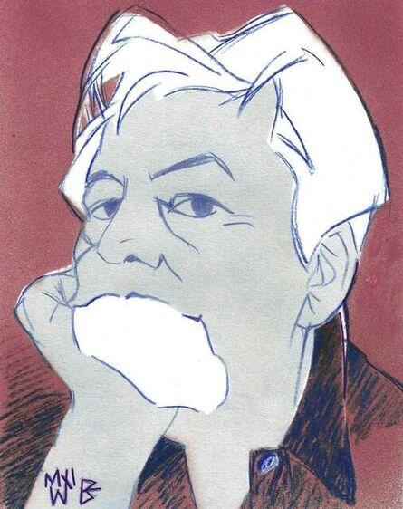 Manuel Ferreiro Badia, 'Self-portrait in the studio', 2021