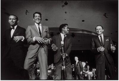 Art Shay, 'Frank Sinatra, 'The Rat Pack', Las Vegas', 1961