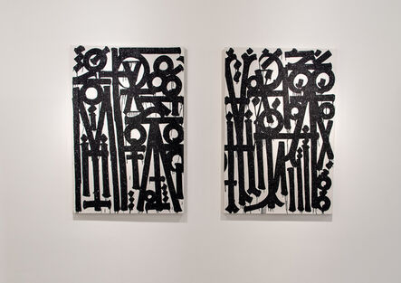 RETNA, 'Untitled Diptych I & 2', 2020