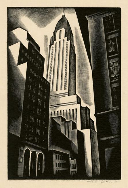 Howard N. Cook, ' Chrysler Building (Chrysler Building in Construction) ', 1930