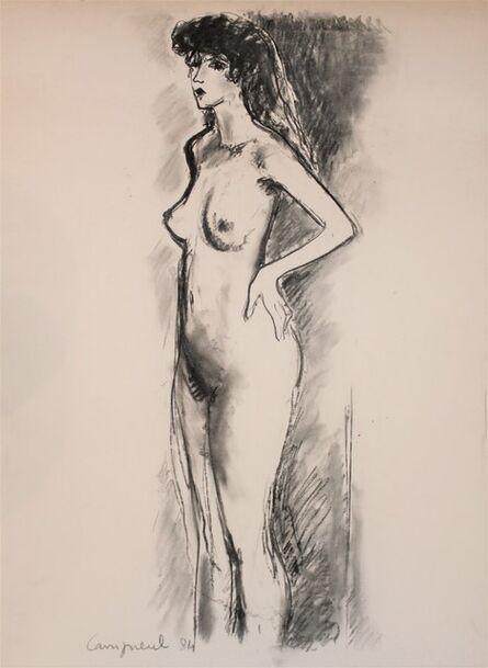 Jean-Pierre Cassigneul, 'Femme nue, mains sur les hanches', 1984