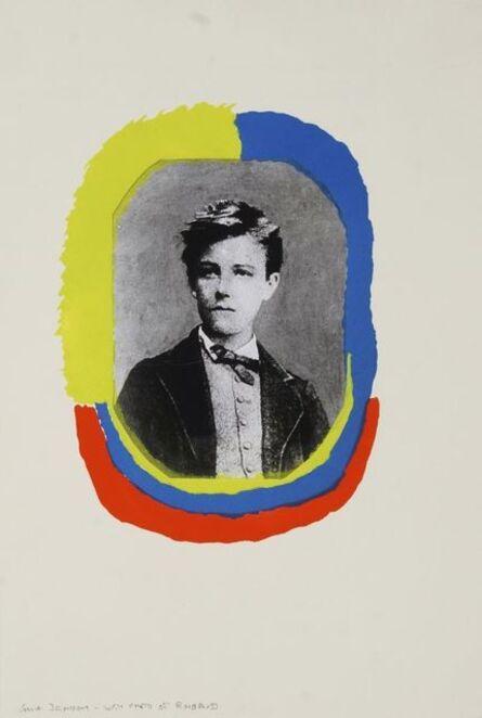 Sonia Delaunay, 'Portrait of Rimbaud, from Les Illuminations', 1973