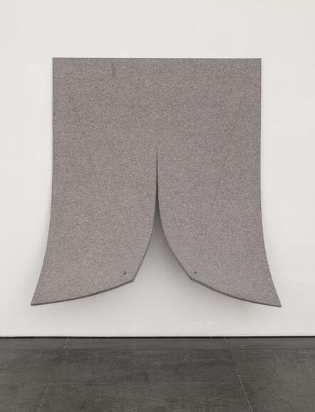 Naama Tsabar, 'Work on Felt (Variation 8)', 2015