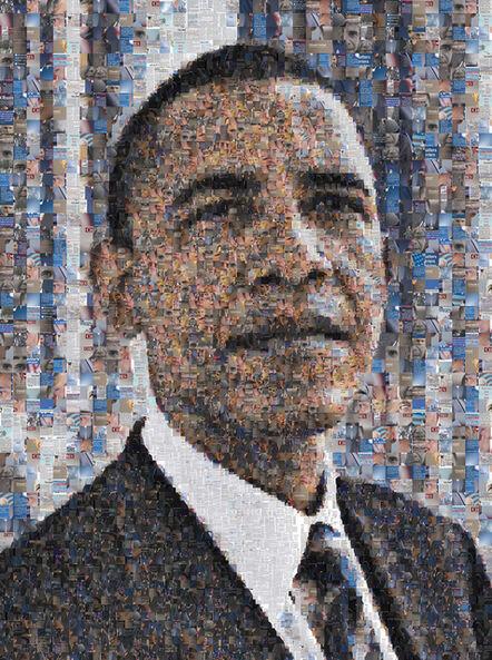 Robert Silvers, 'Barack Obama', 2009