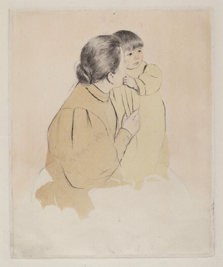 Mary Cassatt, 'Peasant Mother and Child', ca. 1894
