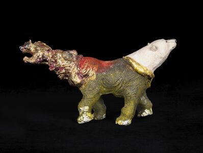 Masatake Kozaki, 'SHIROKUMAZOUGARAMON (Polar bear-Elephant-Garamon)', 2020