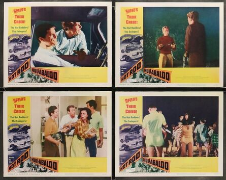 Anon, 'HOT ROD HULLABALOO 8 Lobby Cards 1966 speed's their creed, The Jet Age Crowd, they're with it!', 1966