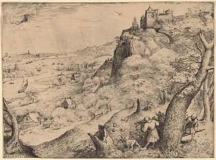 Pieter Bruegel the Elder, 'The Rabbit Hunters', 1566