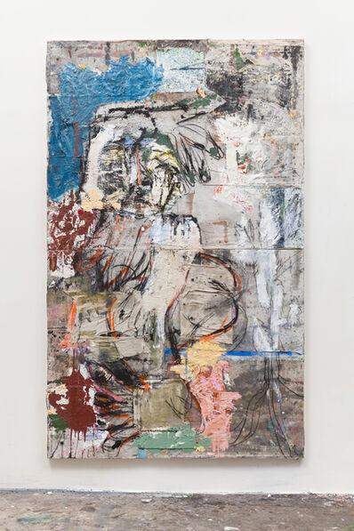 Daniel Crews-Chubb, 'Twerk with white cactus', 2017