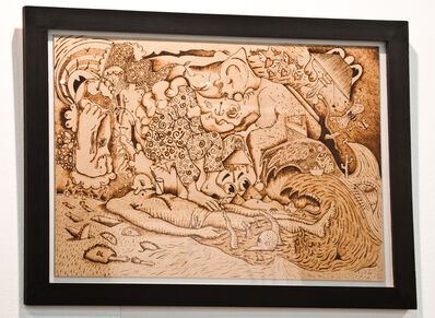 Daniel Leber, 'Boceto de sin título', 2014