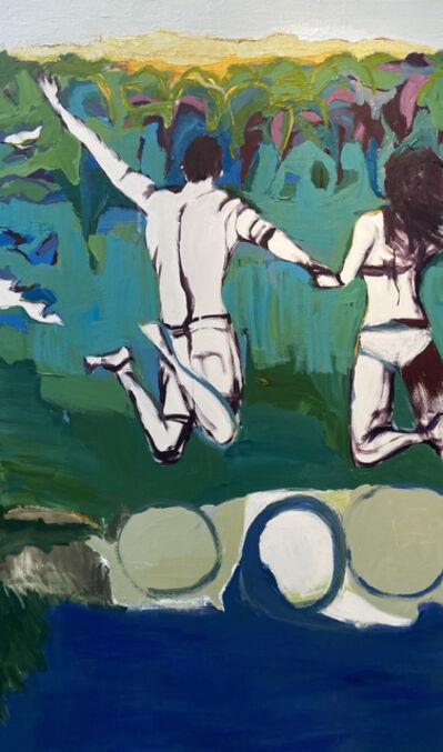 Daniela Schweitzer, 'Jumping Into Summer', 2021