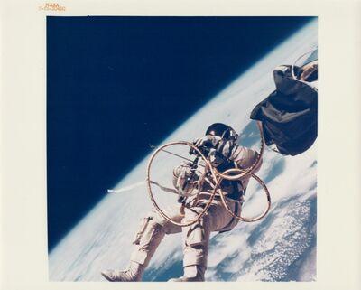 James McDivitt, 'Ed White walking in space over southern California, Gemini 4, June 1965'