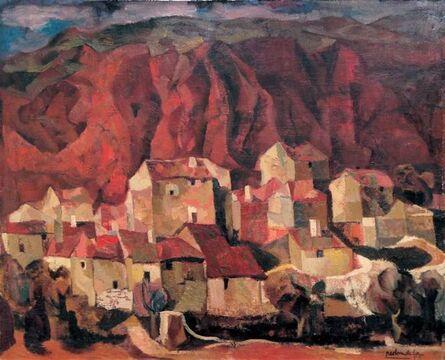 Agustín Redondela, 'Casas', 1958