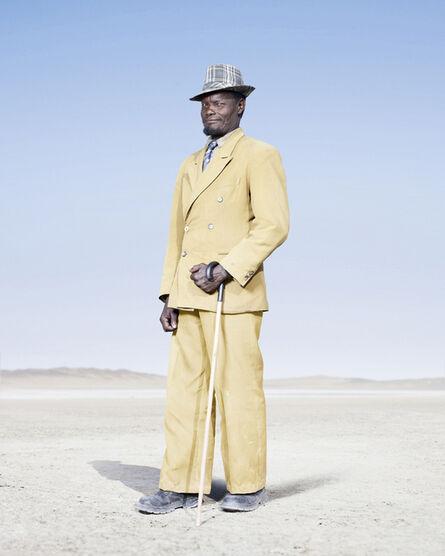 Jim Naughten, 'Herero Man in Yellow Suit', 2012