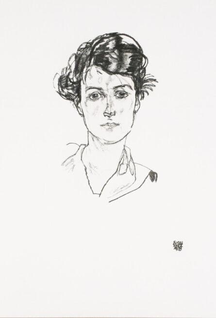 Egon Schiele, 'Portrait of a Young Woman [Handzeichnungen]', 1920