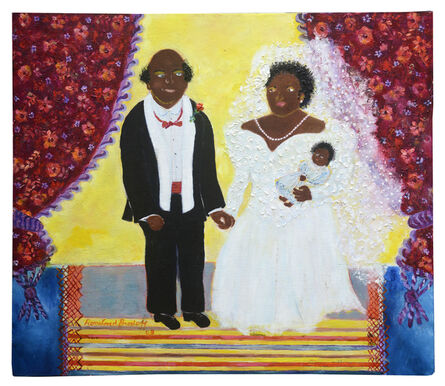 Rosalind Brodoff, 'Untitled (Bride and Groom with Daughter)', 2003