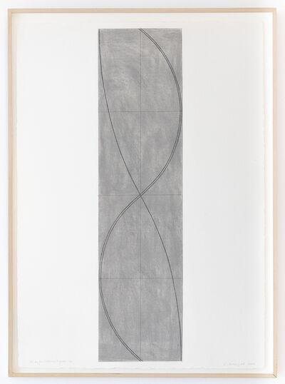 Robert Mangold (b.1937), 'Study for Column / Figure 20', 2004