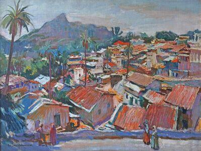 Walter Langhammer, 'Village in Western Ghats', 1950-1960