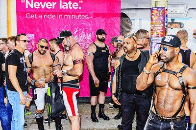 Mitchell Funk, 'Folsom Street Fair, BDSM Leather Event #41', 2015