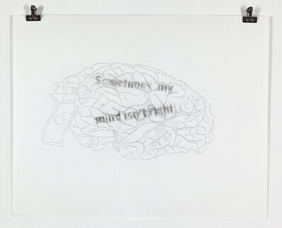 Miguel Angel Ríos, 'Sometimes My Mind Isn't Right', 2011