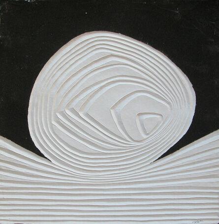 Bernard Alligand, 'Mémoire 2 - aquaprint on heavy handmade paper', 2017