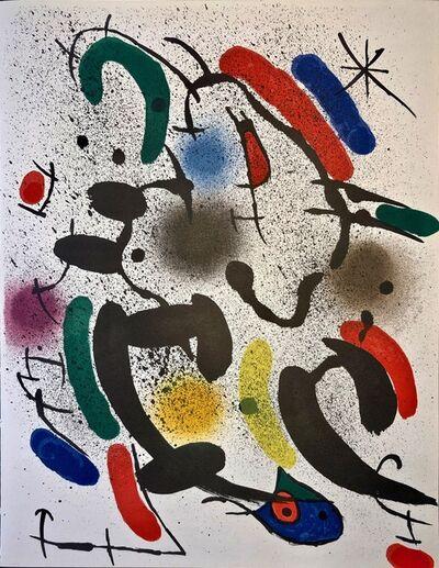 Joan Miró, 'Original Lithograph VI', 1972