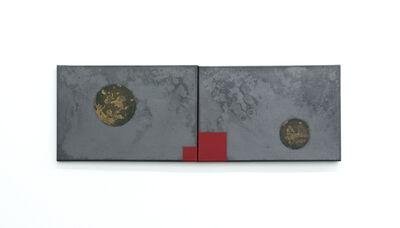 Antonio Dias, 'acrylic paint and graphite on canvas', 1989