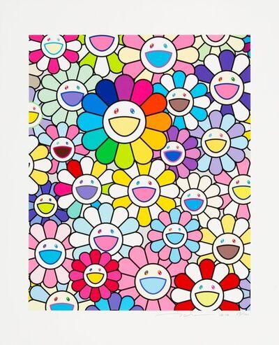 Takashi Murakami, 'Flowers of Hope', 2020