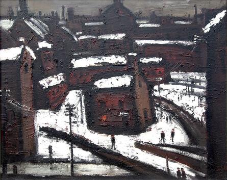Theodore Major, 'Wigan in Snow', 1970-1980