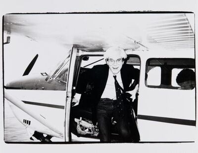 Andy Warhol, 'Andy Warhol on a Seaplane in Montauk', 1982