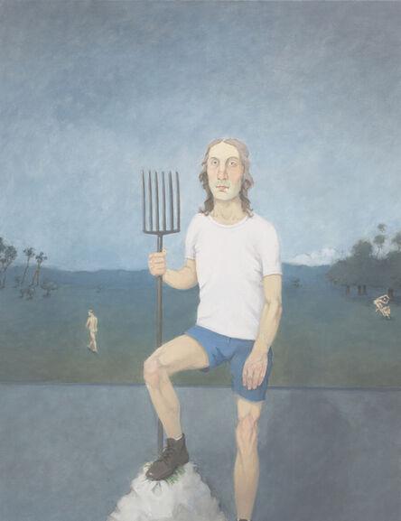 Rodrigo Cunha, 'Homem com Garfo de Jardim [Man with Pitchfork]', 2015