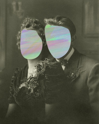 Andrea Wolf, 'Faces, Traces (couple 2)', 2018