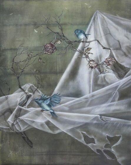 Han-Ting Tsai 蔡函庭, 'Cyan delight 幸福的青鳥 V:青色的喜悅 ', 2018