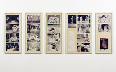 Gina Pane, 'Action II Caso no 2 sul ring [Action The Case n.2 on the ring]', 1976