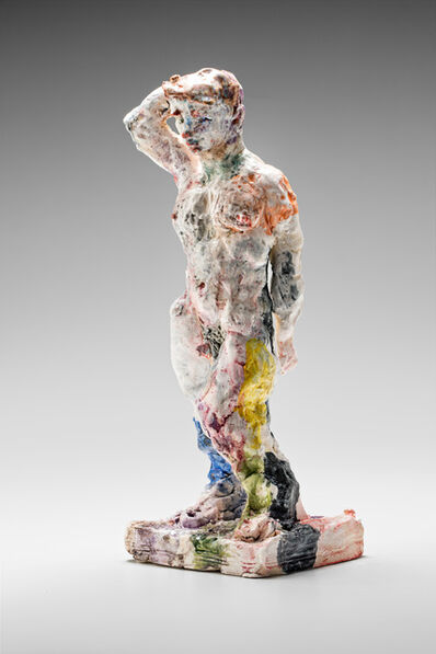Stephen Benwell, 'Statue (standing, arm raised)', 2015