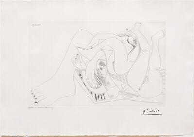 Pablo Picasso, 'Deux Femmes Batifolant sur un Matelas de Plage, from 347 Series', 1968