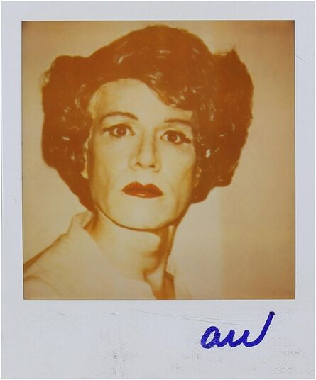 Andy Warhol, 'Andy in Drag ', ca. 1985