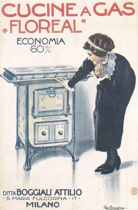 Valdangano, 'Cucine a gas Floreal Boggiali', 1915