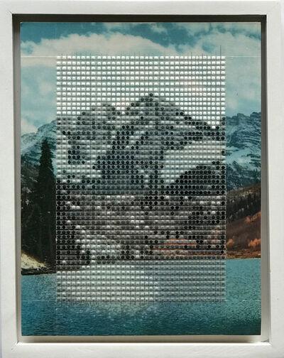 Nina Tichava, 'Maroon Bells in Winter, Aspen Colorado / Borrowed Landscape No.10', 2017